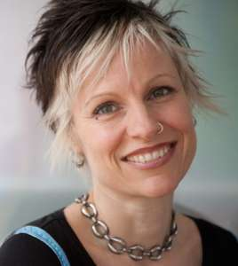 Amy Jo Goddard, internationally renowned coach, love DigiVino logo design.