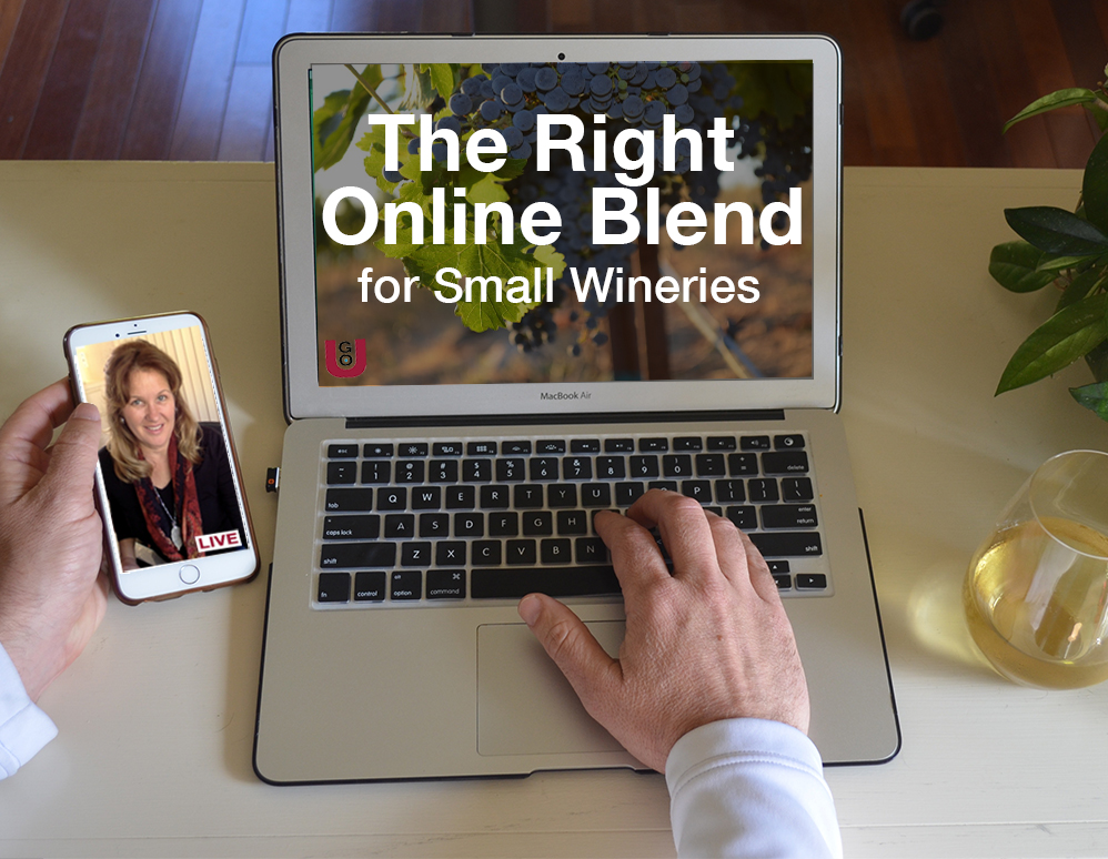 DigiVino GO U Right Online Blend Small Winery