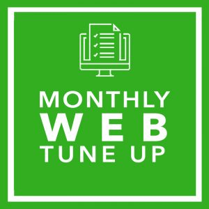 Monthly Web Tune-Up