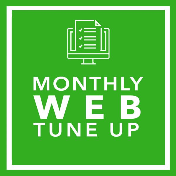 MONTHLY WEB TUNE UP