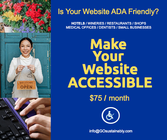 GOsustainably's Website Accessibility Solutions For Small Businesses