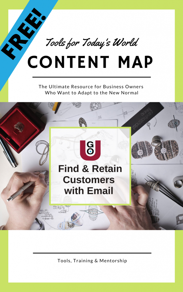 FREE: Content Map email campaign multi-channel scheduling template