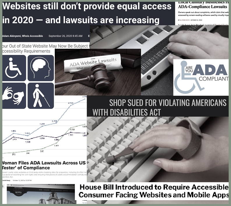 About ADA Website Accessibility Lawsuits